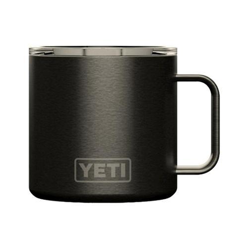 YETI Rambler 14oz Mug with Standard Lid Graphite_pvd