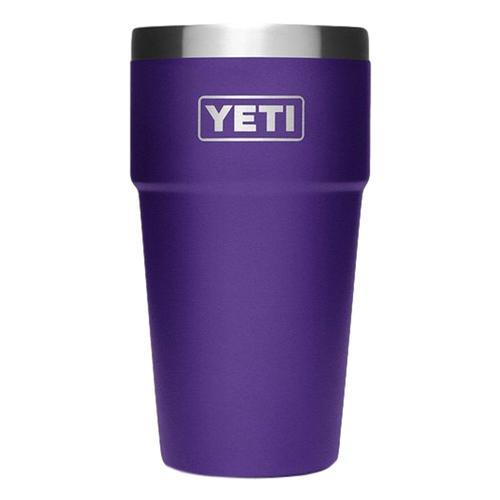 YETI Rambler 16oz Stackable Pint Peak_purple