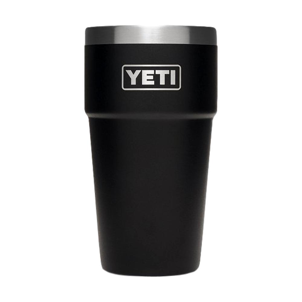 YETI Rambler 16oz Stackable Pint BLACK