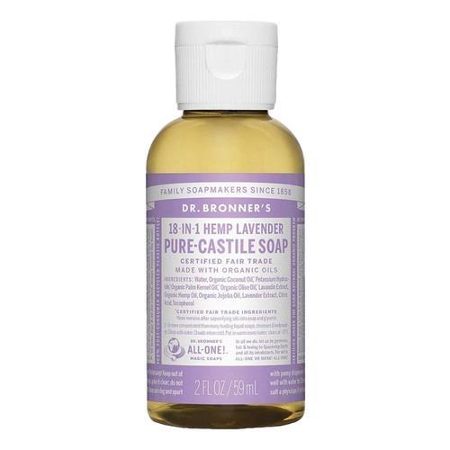 Dr. Bronner's Pure-Castile Liquid Soap Lavender 2oz Lavendar
