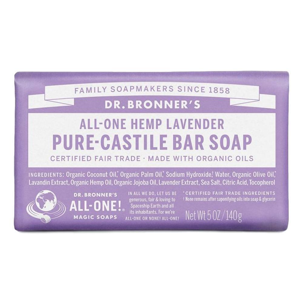 Dr. Bronner's Pure-Castile Bar Soap Lavender 5oz LAVENDAR