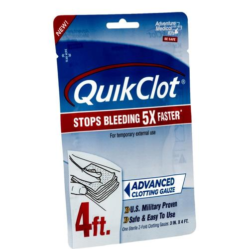 Adventure Medical Kits QuickClot Gauze 3in x 4ft