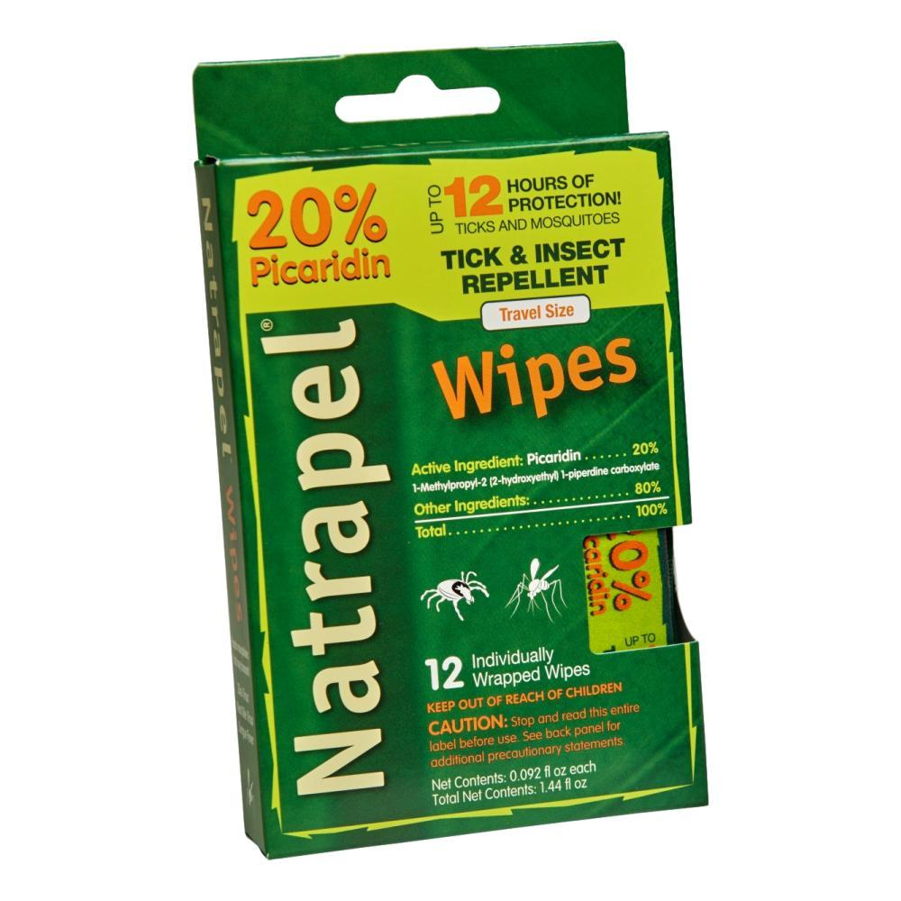 Natrapel 12- Hour Wipes - 12 Pack