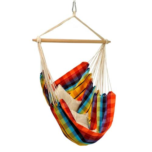 Byer of Maine Brazil Hammock Chair Rainbow