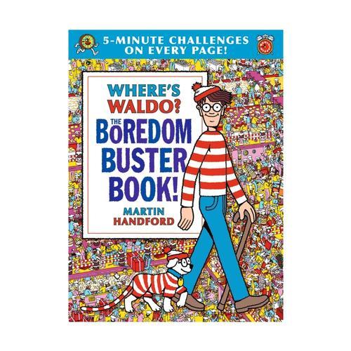 Where's Waldo? The Boredom Buster Book! by Martin Handford