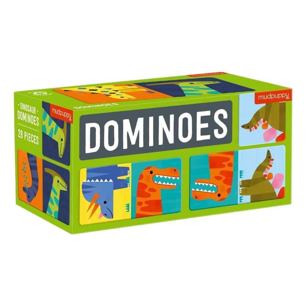 Mudpuppy Dinosaur Dominoes