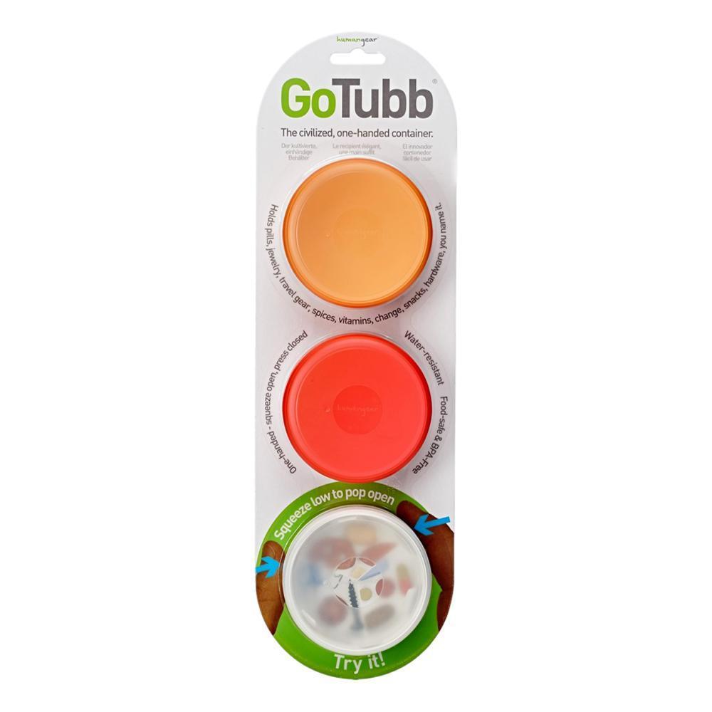 humangear GoTubb - 3-Pack CLR/ORG/RED
