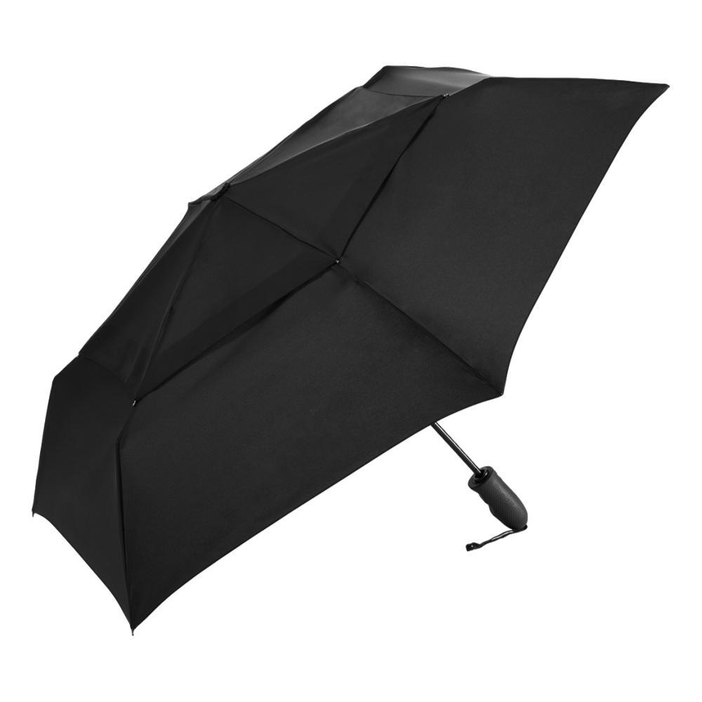 ShedRain Windjammer Vented Auto Open/Close Compact Wind Umbrella BLACK