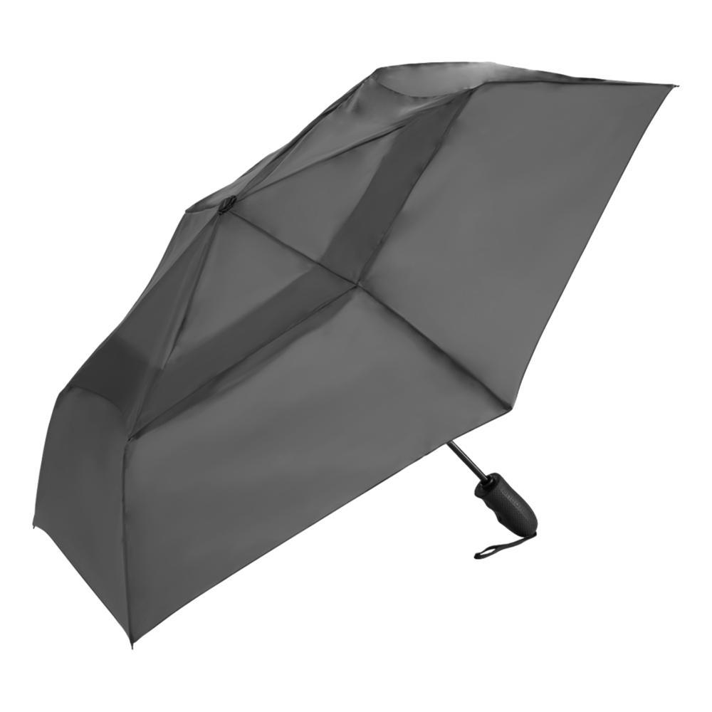 ShedRain Windjammer Vented Auto Open/Close Compact Wind Umbrella CHARCOAL