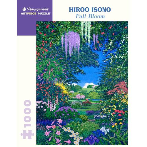 Pomegranate Hiroo Isono: Full Bloom 1000-Piece Jigsaw Puzzle