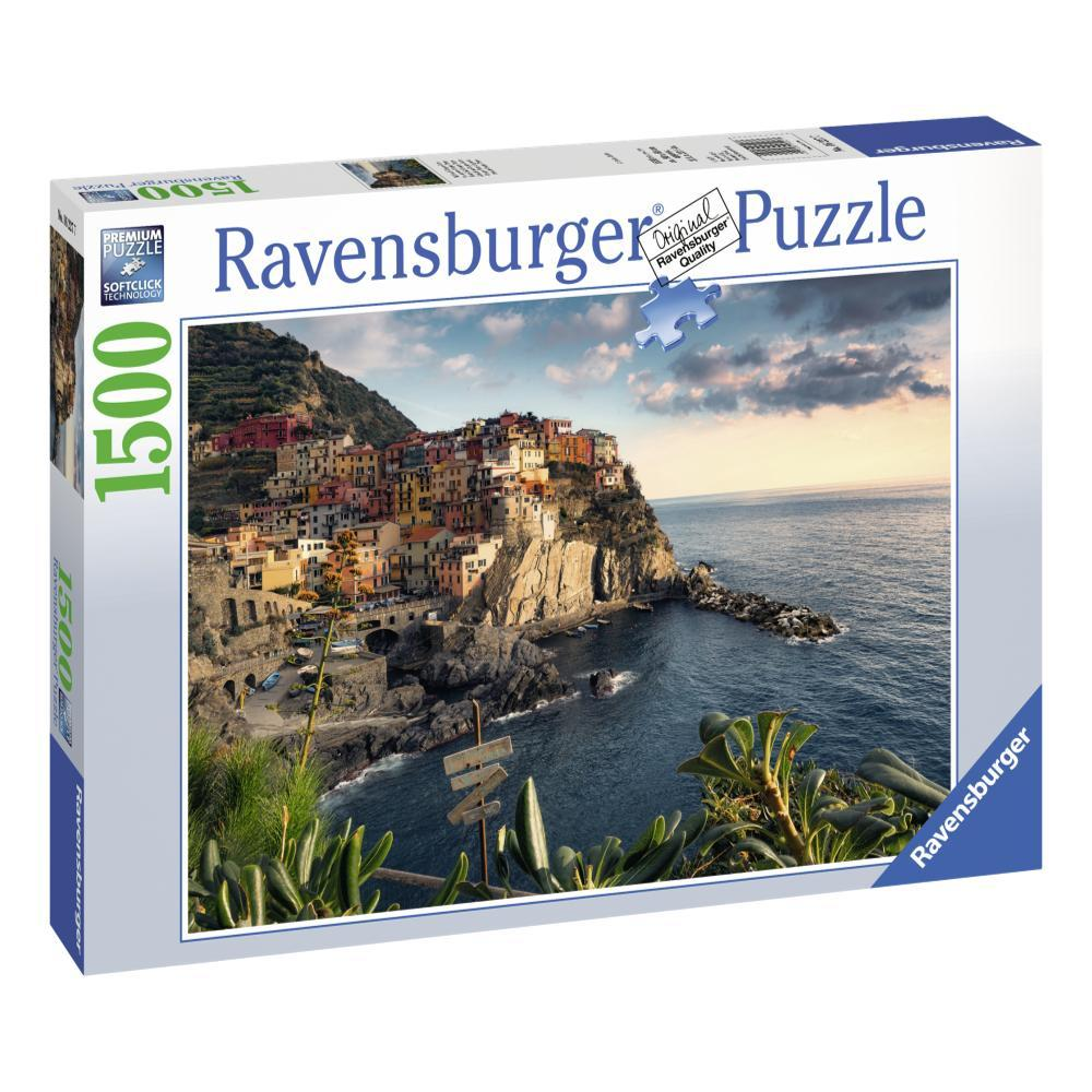 Ravensburger Cinque Terre Viewpoint 1500- Piece Jigsaw Puzzle