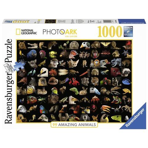 Ravensburger 99 Stunning Animals 1000-Piece Jigsaw Puzzle