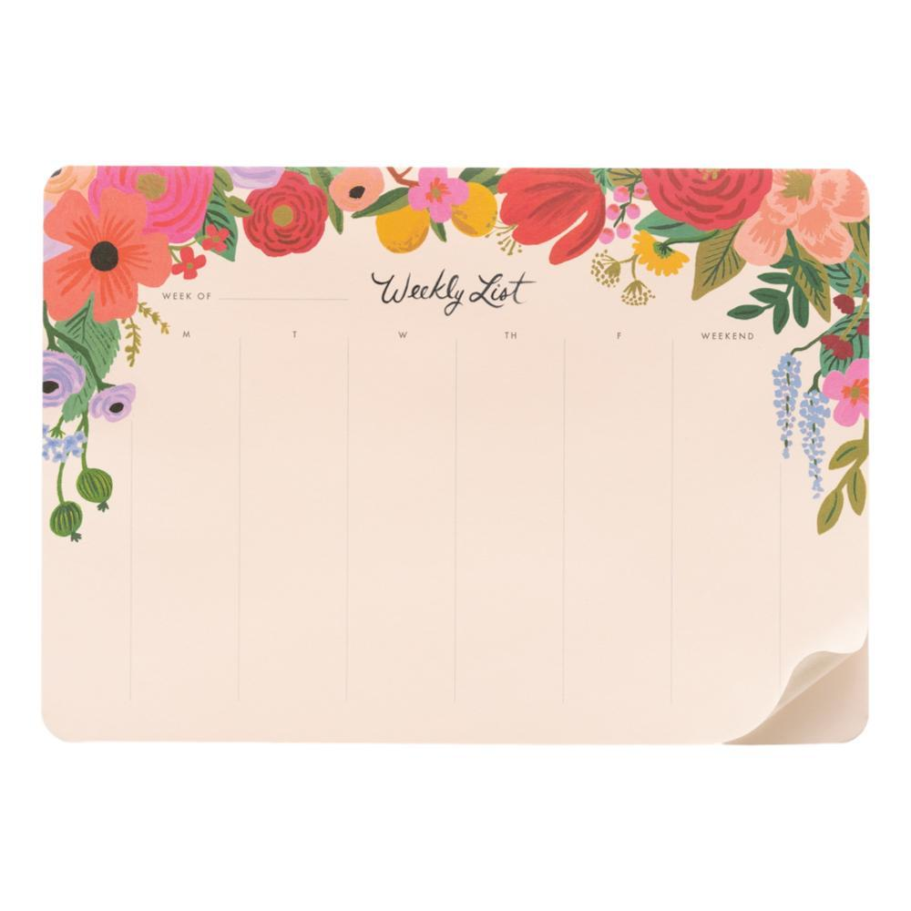 Rifle Paper Co.Garden Party Weekly Desk Pad