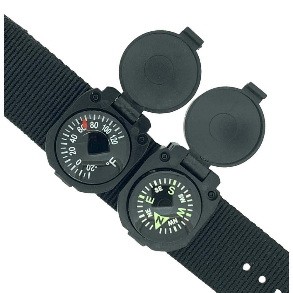 Sun Company ArmArmour 3 Wrist Compass and Thermometer BLACK