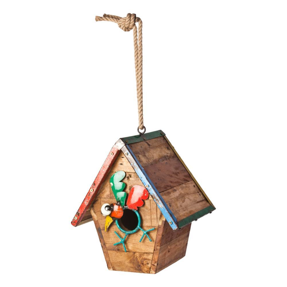 Think Outside Walk The Line Bird House