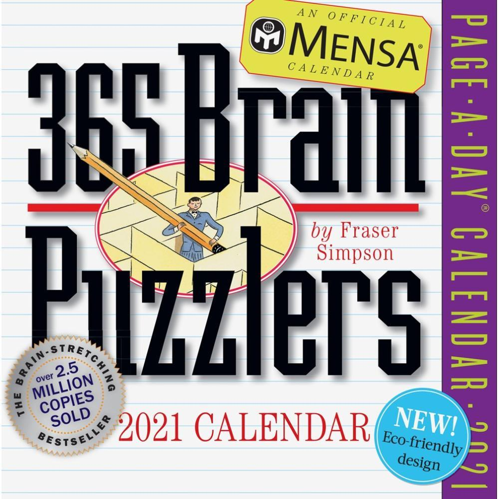 Mensa 365 Brain Puzzlers Page-A-Day Calendar 2021 2021