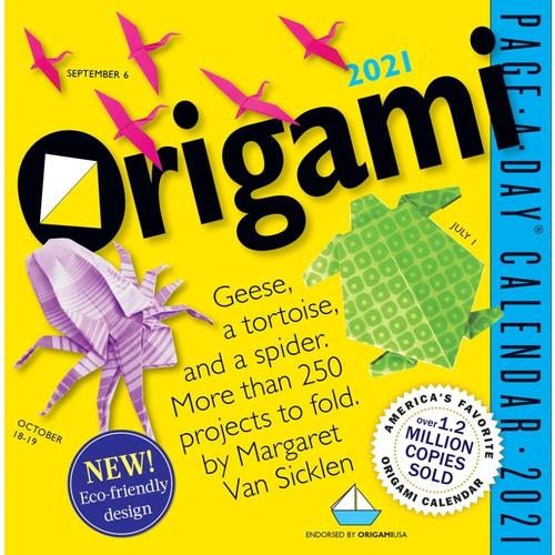 Origami Page-A-Day Calendar 2021 2021