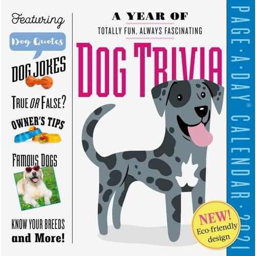 A Year of Dog Trivia Page-A-Day Calendar 2021 2021