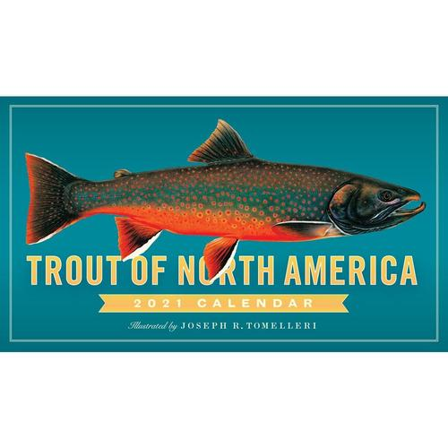 Trout of North America Wall Calendar 2021 2021