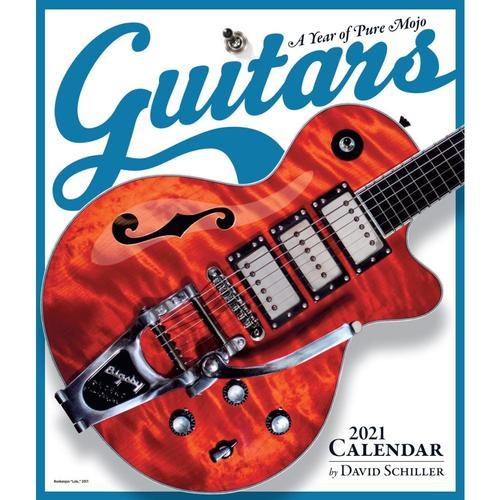 Guitars Wall Calendar 2021 by David Schiller 2021