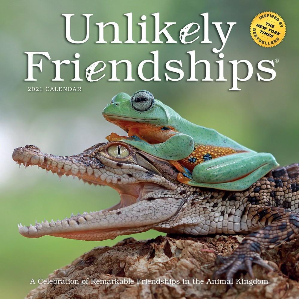 Unlikely Friendships Wall Calendar 2021 2021