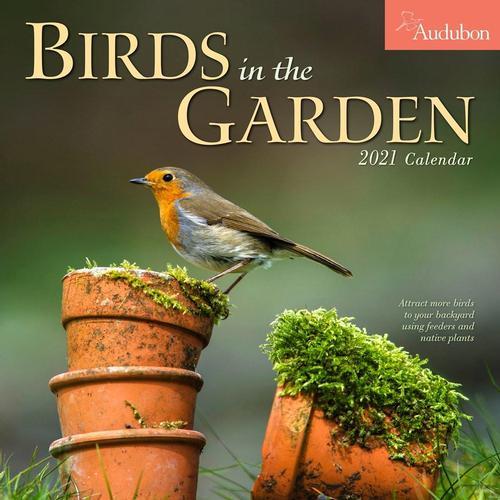 Audubon Birds in the Garden Wall Calendar 2021 2021