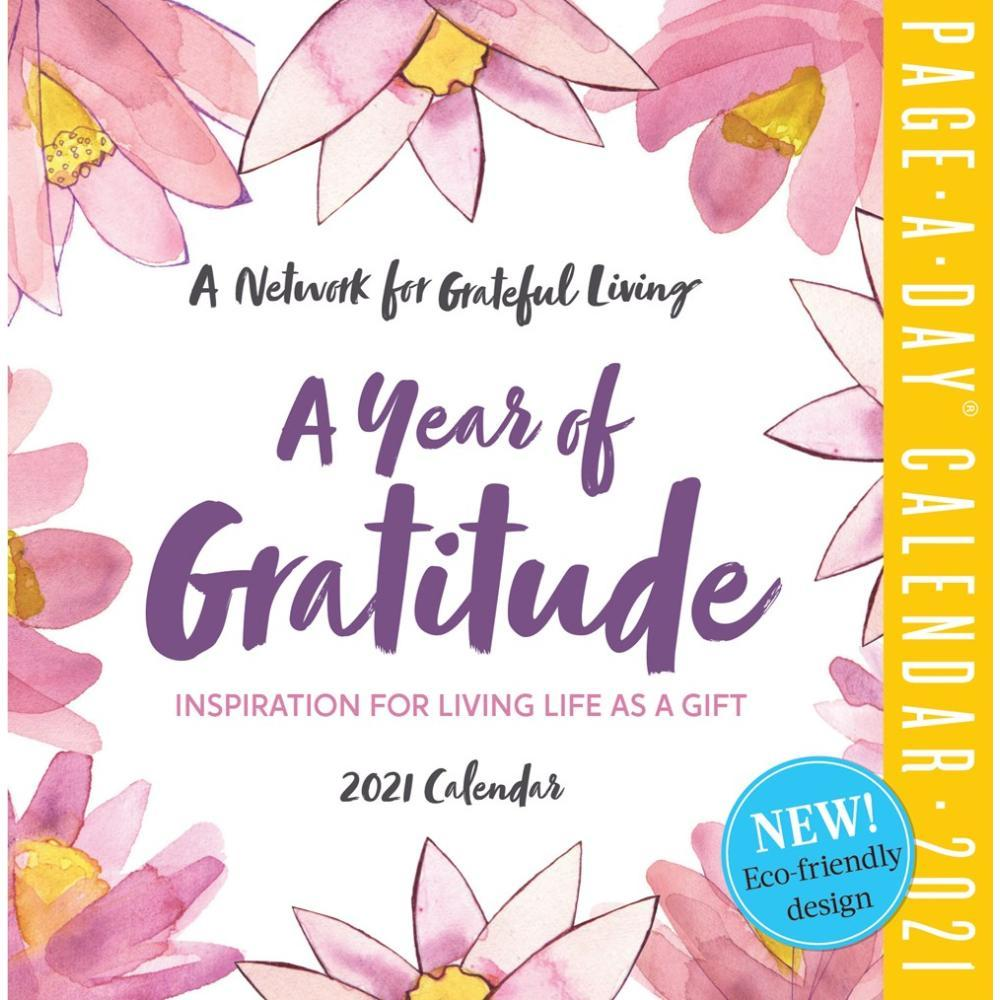 A Year of Gratitude Page-A-Day Calendar 2021 2021