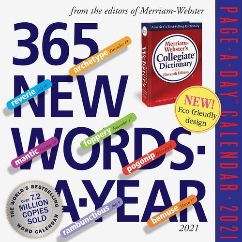 365 New Words-A-Year Page-A-Day Calendar 2021 2021