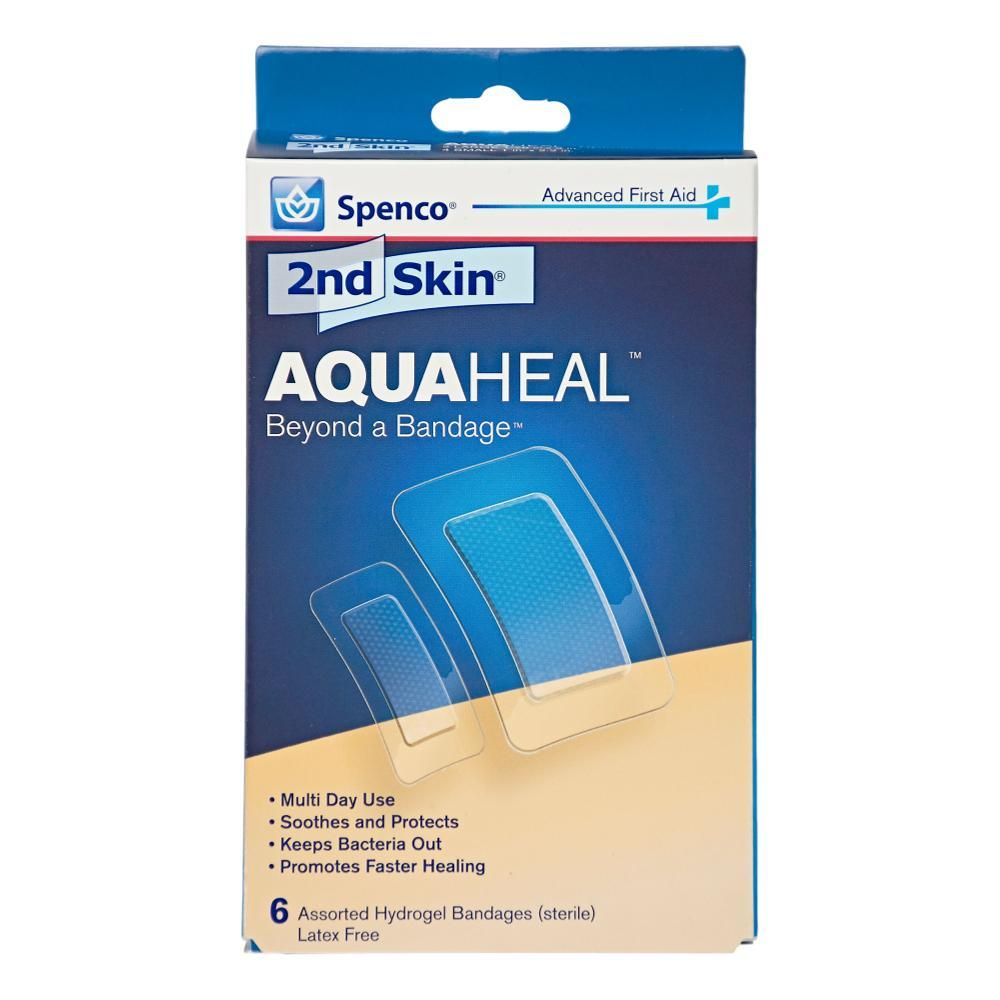 Spenco 2nd Skin Aqua Heal Hydrogel Bandages