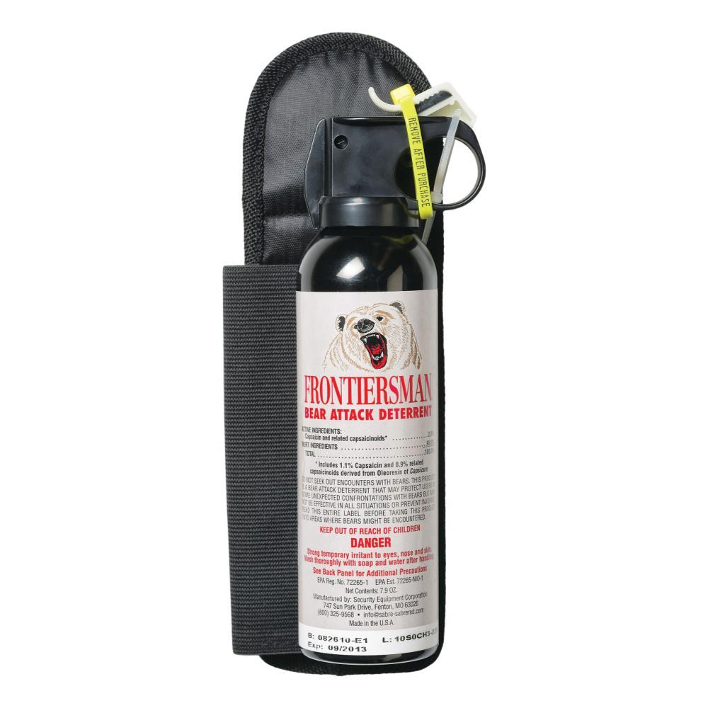 Frontiersman Bear Spray 7.9oz With Belt Holster