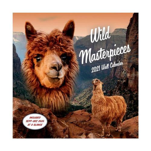 Wild Masterpieces 2021 Wall Calendar by Evan Douglas 2021