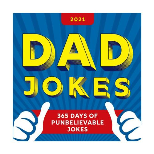 2021 Dad Jokes Boxed Calendar : 365 Days of Punbelievable Jokes by Sourcebooks 2021