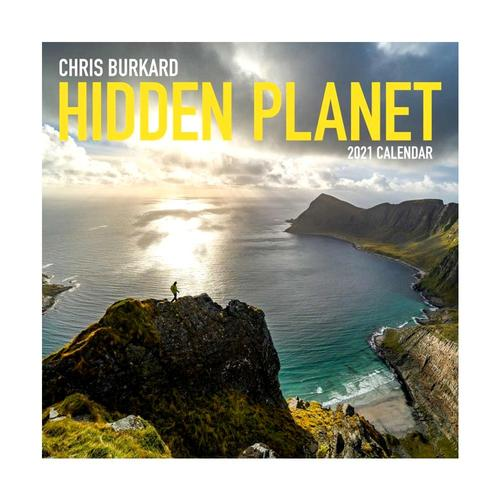 Hidden Planet 2021 Wall Calendar by Chris Burkard 2021