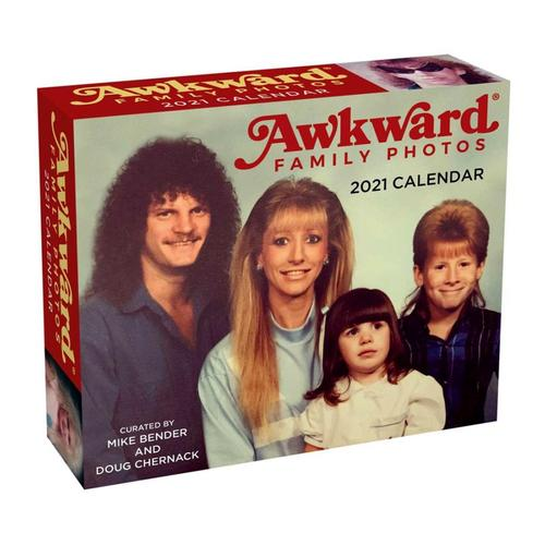Awkward Family Photos 2021 Day-to-Day Calendar by Mike Bender and Doug Chernack 2021
