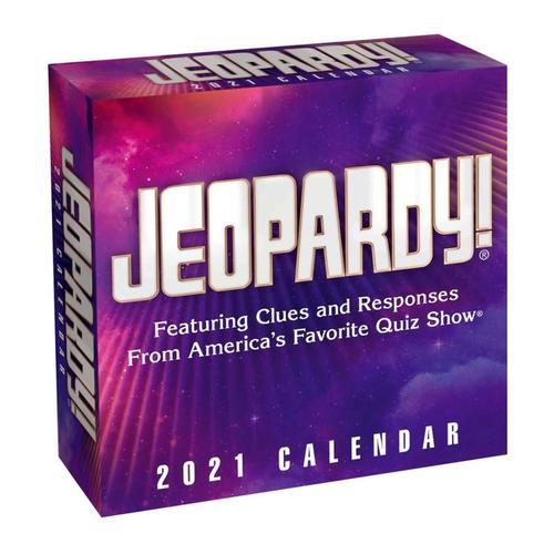 Jeopardy! 2021 Day-to-Day Calendar by Sony 2021