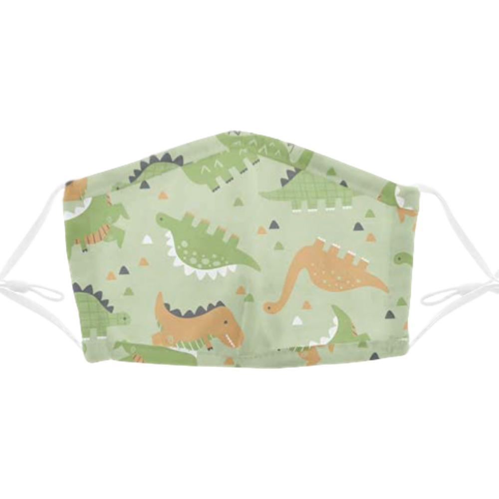 Stephen Joseph Kids Cotton Face Mask DINO59