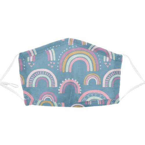 Stephen Joseph Kids Cotton Face Mask Rainbow18