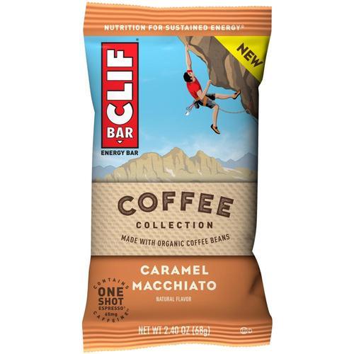 Clif Bar Caramel Macchiato Flavor Energy Bar Crml_macch