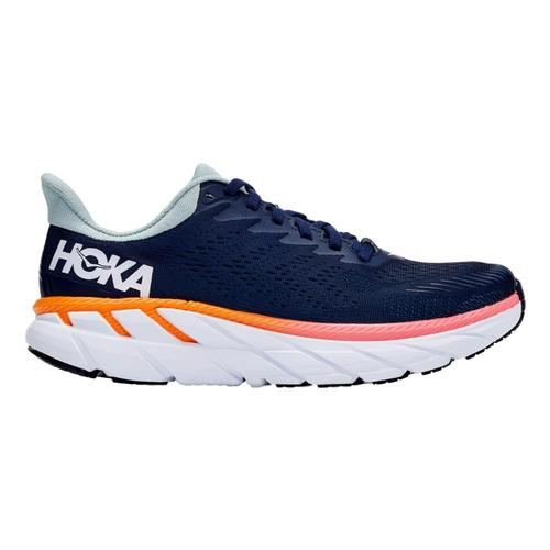HOKA ONE ONE Women's Clifton 7 Running Shoes Bkir.Blhz_bibh