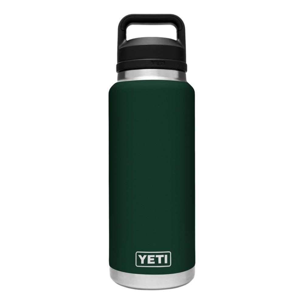 YETI Rambler 36oz Bottle with Chug Cap NRTHWDSGREEN