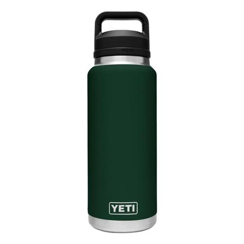 YETI Rambler 36oz Bottle with Chug Cap NRTHWDSGREEN