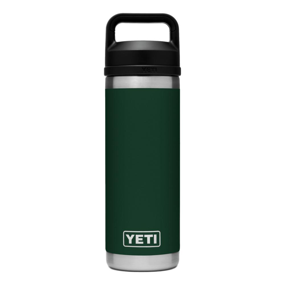 YETI Rambler 18oz Bottle with Chug Cap NRTHWDSGREEN
