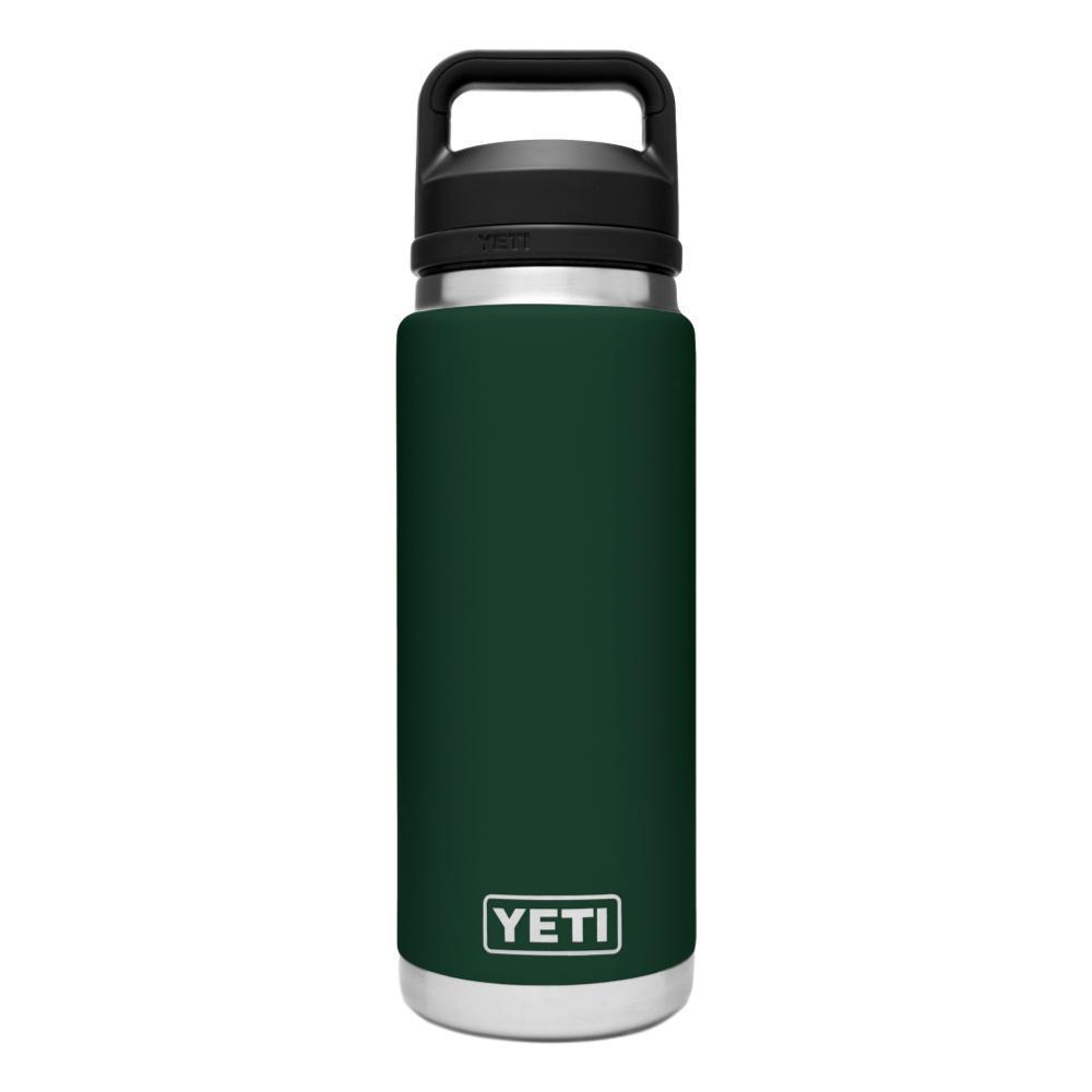 YETI Rambler 26oz Bottle with Chug Cap NRTHWDSGREEN
