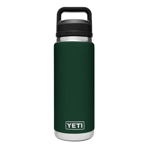 YETI Rambler 26oz Bottle with Chug Cap NRTHWDSGREEN