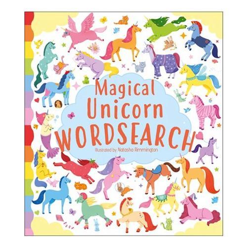 Magical Unicorn Wordsearch by Ivy Finnegan .
