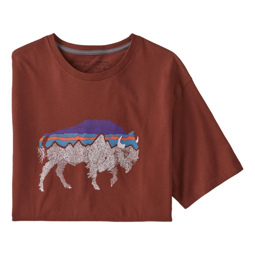 Patagonia Men's Back For Good Organic T-Shirt BISON_FXRB