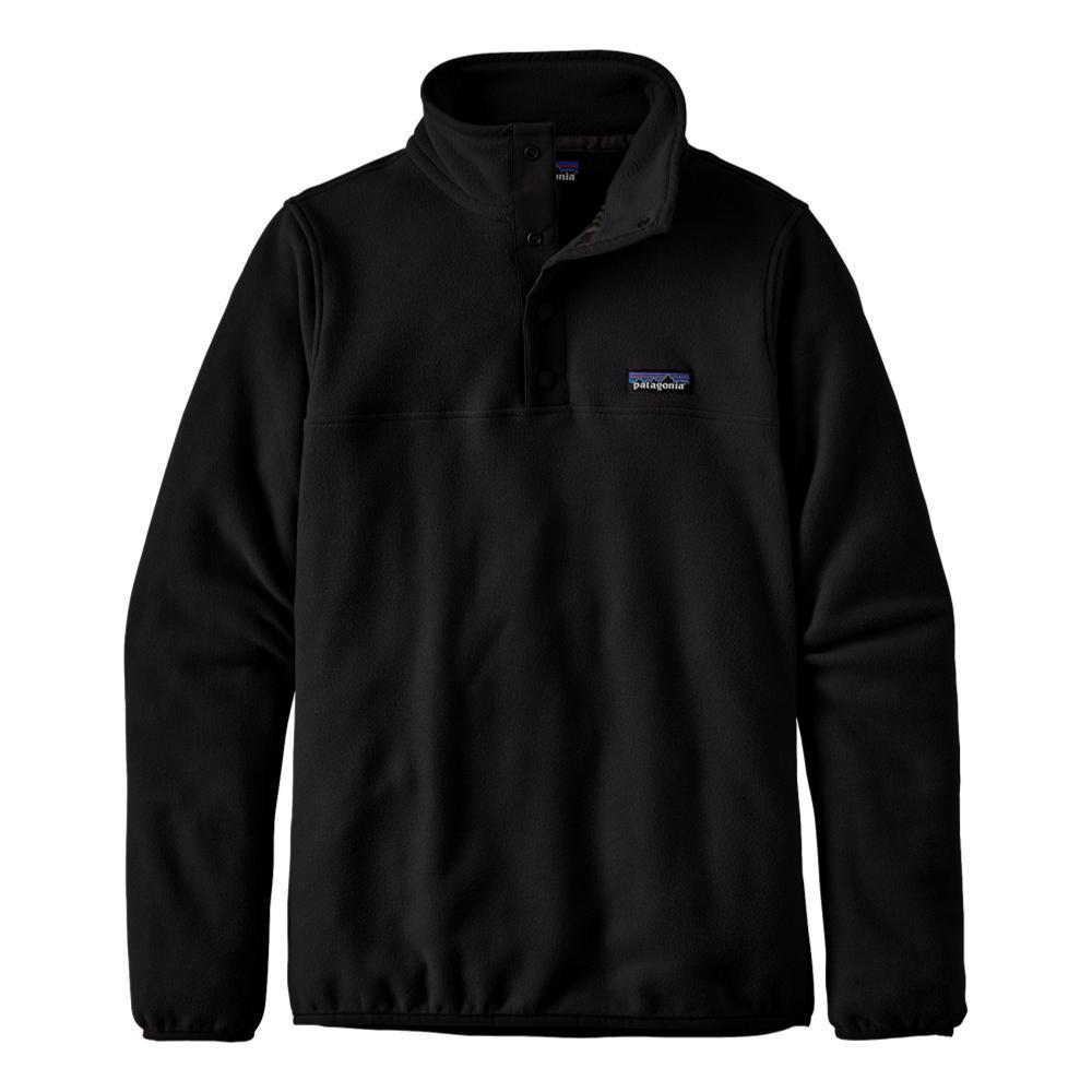 Patagonia Women's Micro D Snap-T Fleece Pullover BLACK_BLK