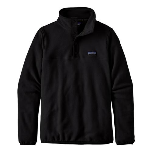 Patagonia Women's Micro D Snap-T Fleece Pullover Black_blk