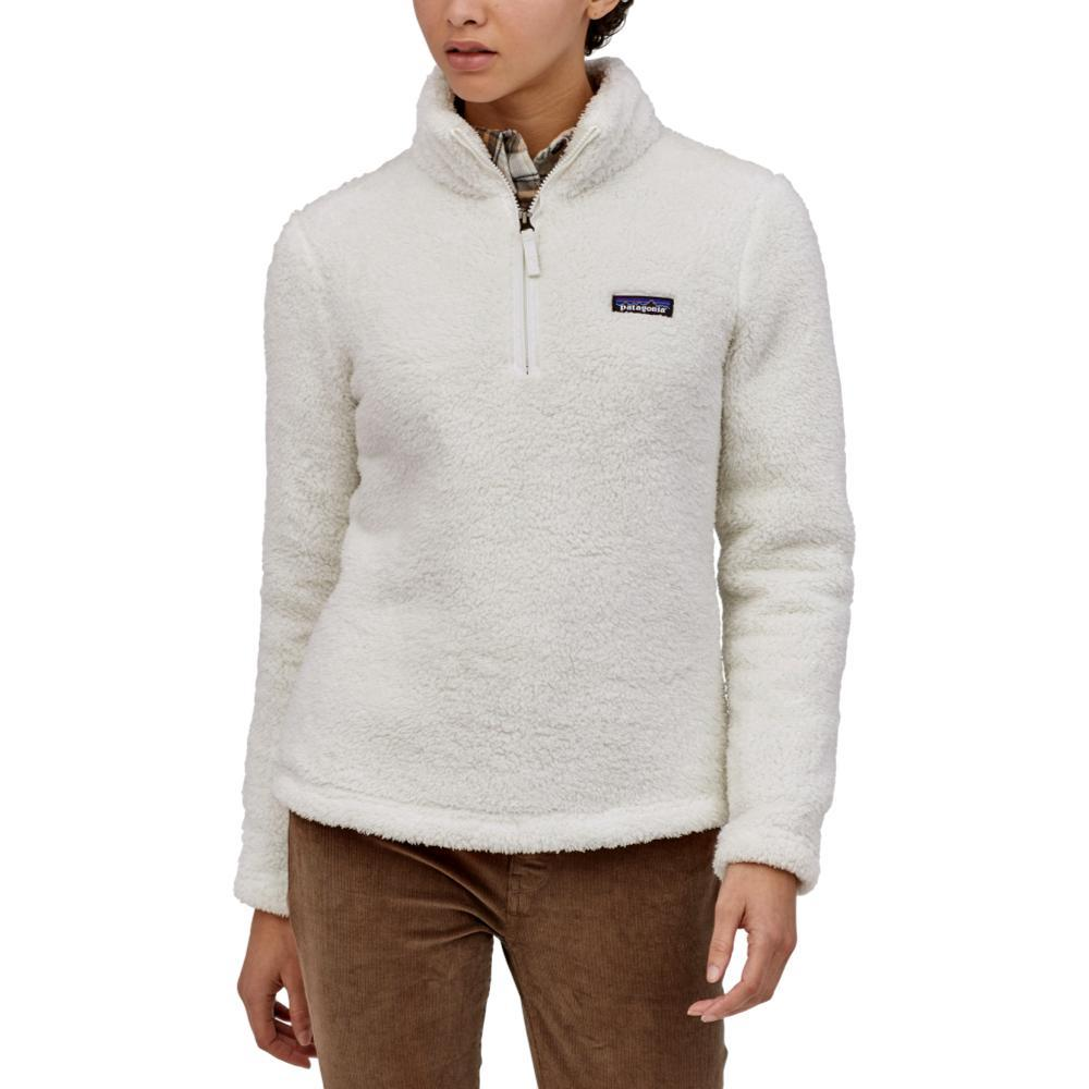 Patagonia Women's Los Gatos 1/4 Zip Fleece Pullover WHITE_BCW