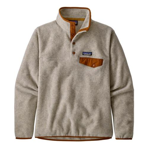 Patagonia Women's Lightweight Synchilla Snap-T Fleece Pullover Brown_ohwb
